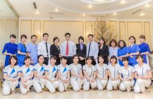 Đội ngũ bác sĩ dịch vụ giảm béo tại Thẩm mỹ viện Đông Á