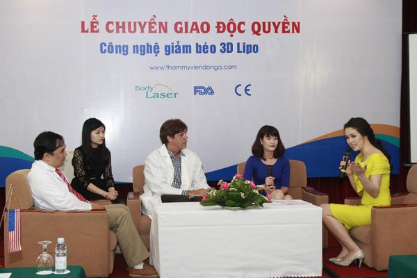 Chuyển giao độc quyền CN giảm mỡ 3D Lipo tại TMV Đông Á