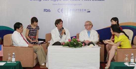 Chuyển giao độc quyền CN hủy mỡ Body Laser tại TMV Đông Á