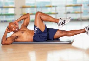 Cơ to, dáng khỏe với bài tập giảm mỡ bụng cho nam