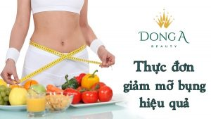 Giảm cân sau 3 ngày – thực đơn giảm mỡ bụng hiệu quả nhất hiện nay