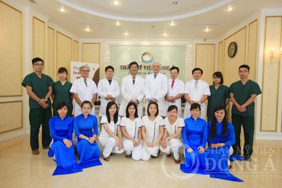 Giới thiệu Thẩm mỹ viện Đông Á 1