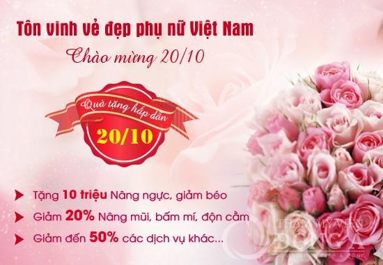 Quà tặng hấp dẫn 20/10 - Tôn vinh vẻ đẹp phụ nữ Việt Nam