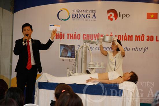 Sức nóng từ Hội thảo giảm mỡ 3D Lipo - 7 ngày có ngay số đo như ý 8