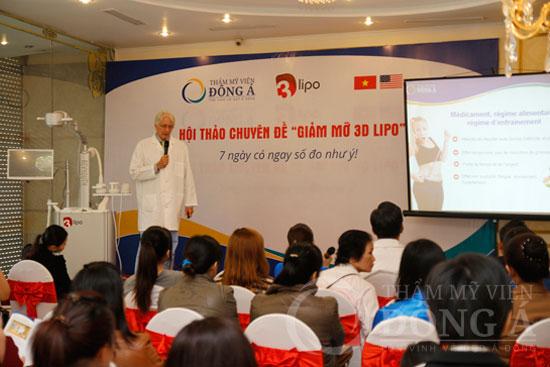 Sức nóng từ Hội thảo giảm mỡ 3D Lipo - 7 ngày có ngay số đo như ý 4