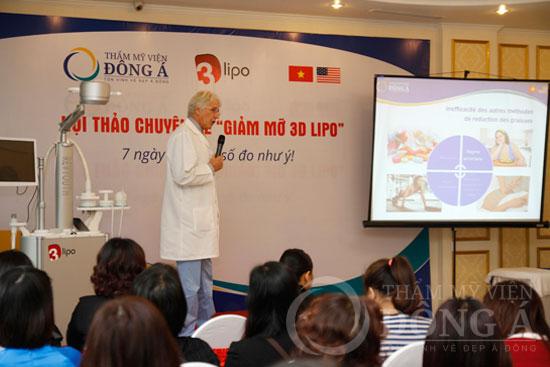 Sức nóng từ Hội thảo giảm mỡ 3D Lipo - 7 ngày có ngay số đo như ý 7