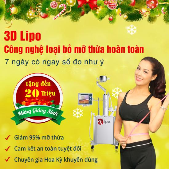 Khuyến mãi giảm mỡ 3D Lipo