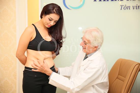 Theo chân Thúy Hằng đi giảm béo tại Thẩm mỹ viện Đông Á
