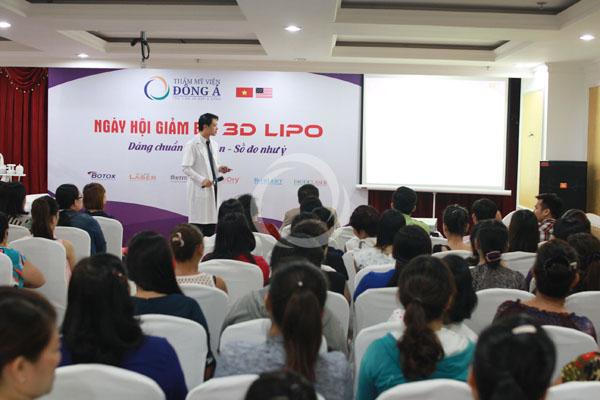 Hội thảo giảm béo 3D Lipo TP.HCM