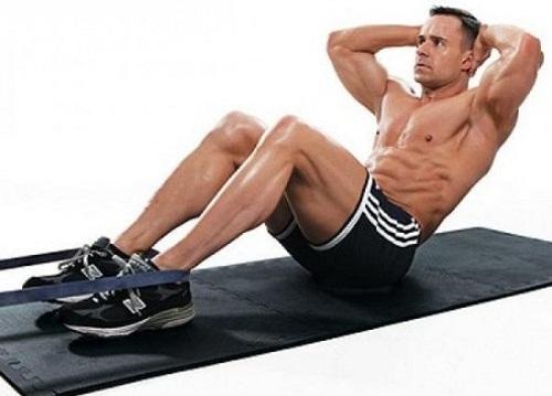 Top 3 bài tập giảm mỡ bụng cho nam lấy lại cơ bụng 6 múi