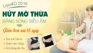 Giảm mỡ Lipo4D – Giảm 8 cm mỡ bụng sau 15 ngày