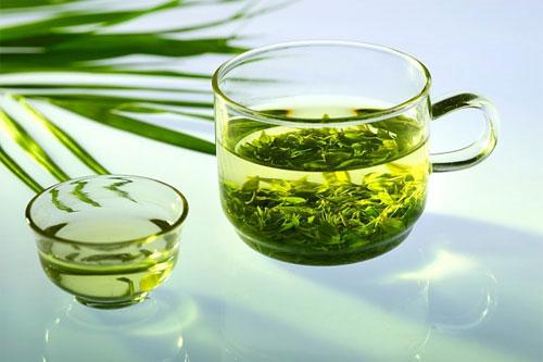 Giảm cân nhanh hiệu quả bằng yến mạch với trà xanh