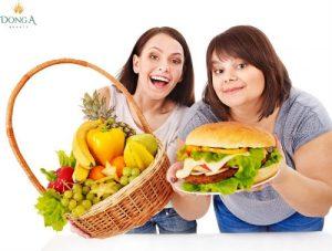 3 Lưu ý vàng cho bạn khi thực hiện chế độ ăn kiêng giảm cân