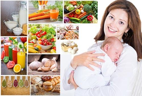 Giảm mỡ bụng sau sinh hiệu quả nhờ ăn uống khoa học