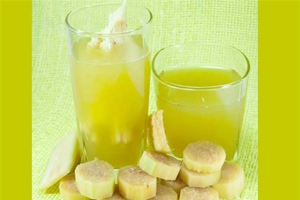 Thức uống giảm cân detox từ mía