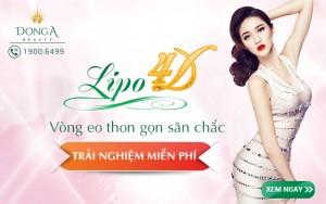 Trải nghiệm miễn phí công nghệ giảm béo Lipo 4D trong Tuần lễ khai trương