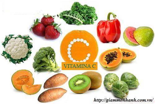 thuc-pham-giam-beo-giau-vitamin-C