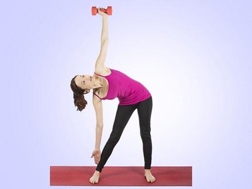 Bài tập giảm mỡ 2 bên eo giúp chị em thêm thon gọn gợi cảm 2