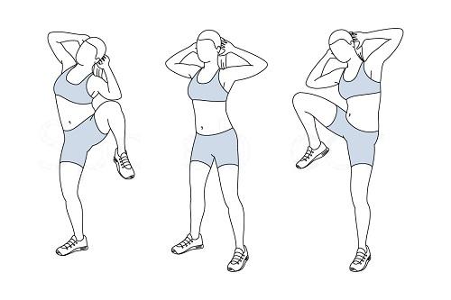 Bài tập giảm mỡ 2 bên eo giúp chị em thêm thon gọn gợi cảm 3